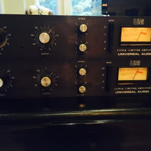 Urei Universal Audio 1176LN Rev. D Limiting Amplifier Stereo Pair