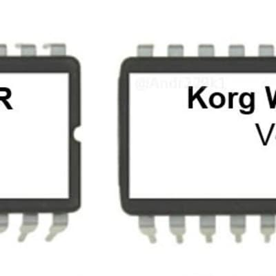 Korg Wavestation SR firmware OS upgrade update version 1.15 Eprom