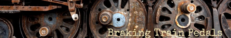 Braking Train Pedals