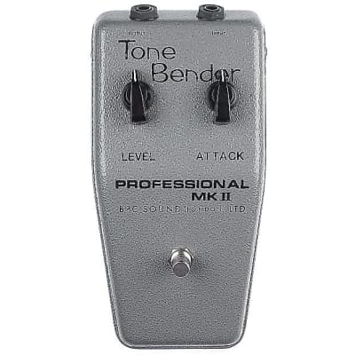 British Pedal Company Professional MKII Tone Bender OC75 KEEP ON RUNNIN 2018 Silver Hammer