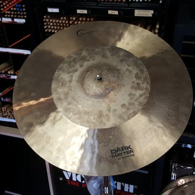 "USED Dream 21"" Dark Matter Eclipse Ride Cymbal 2514g"