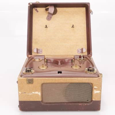 1952 Webcor Model 210-1B Reel to Reel Analog Tape Recorder #37216