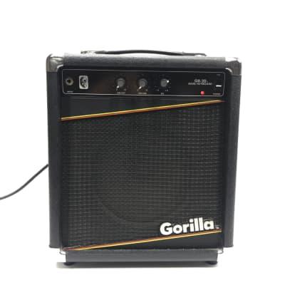 Gorilla GB-20 Bass/Keyboard Amp 1987 Black for sale