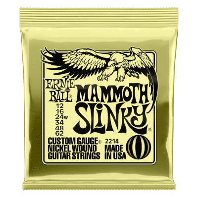 Ernie Ball P02214 (12-62 3rd W) Mammoth Slinky 2020 Light Yellow