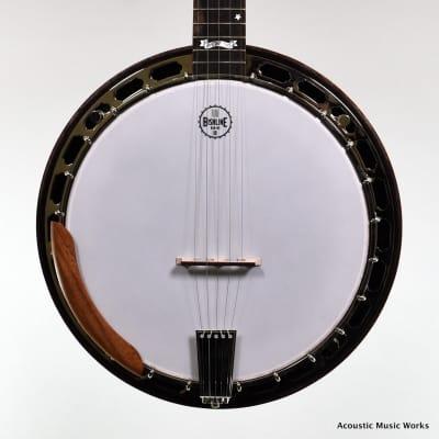 Bishline Midnight Moon, Maple Bluegrass Banjo, Custom Inlay for sale