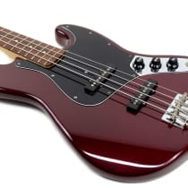 Fender Standard Jazz Bass 1989 Midnight Wine image