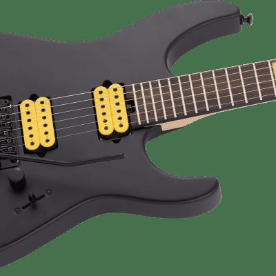 Jackson MJ Series Dinky DKR Ebony Fingerboard Satin Black 2021 With Jackson Foam Core Case
