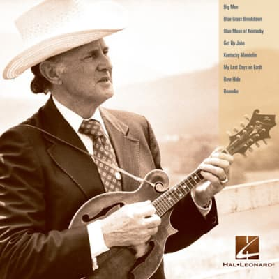 Hal Leonard Bill Monroe Mandolin Play-Along Volume 12