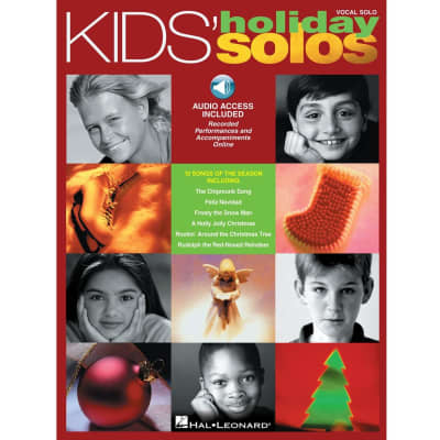 Kids' Holiday Solos: 10 Songs of the Season (Vocal Solo) (w/ Audio Access)