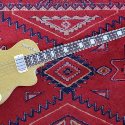 Italia Maranello Bass Gold Sparkle - no case for sale
