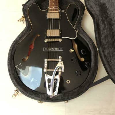 Gibson ES-335 Dot Gibson BB King Lucille  SIGNED!  2007 black beauty - Ebony - Autografo - autograph for sale