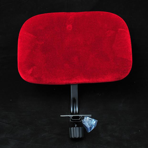 roc n soc drum throne backrest red cascio music reverb. Black Bedroom Furniture Sets. Home Design Ideas