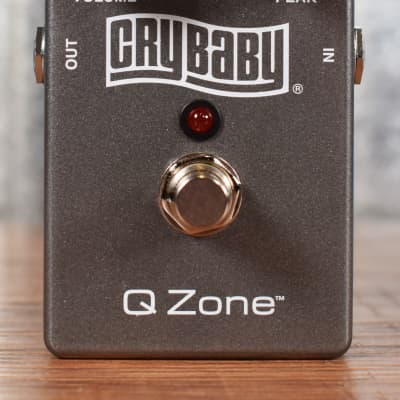 Dunlop QZ1 Crybaby Q-Zone Guitar Effect Pedal Demo
