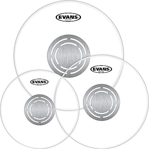 """Evans 10/"""" Power Center Clear Drum Head"""