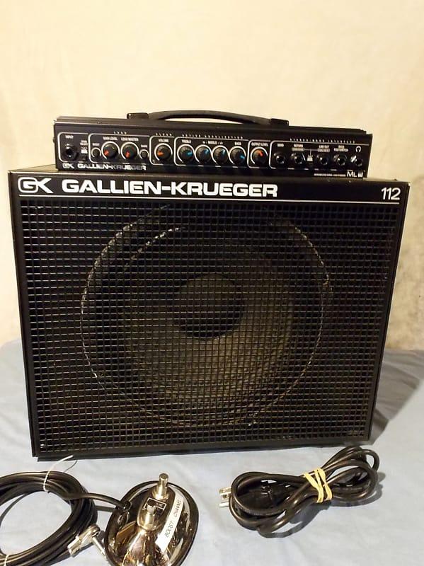 Gallien-Krueger MLS112 Guitar Combo Amp 1990's