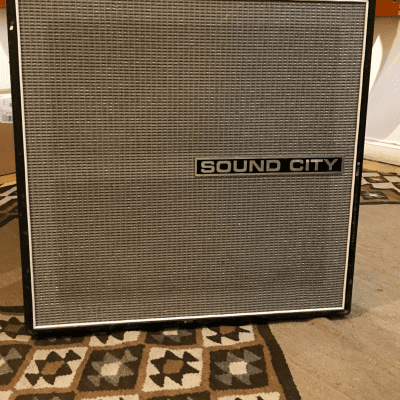 Sound City Bass Cab 4x12 1970s for sale