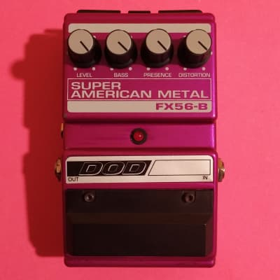 DOD FX56-B Super American Metal w/box, manual & 3.5mm converter (Boss HM-2 Heavy Metal clone)