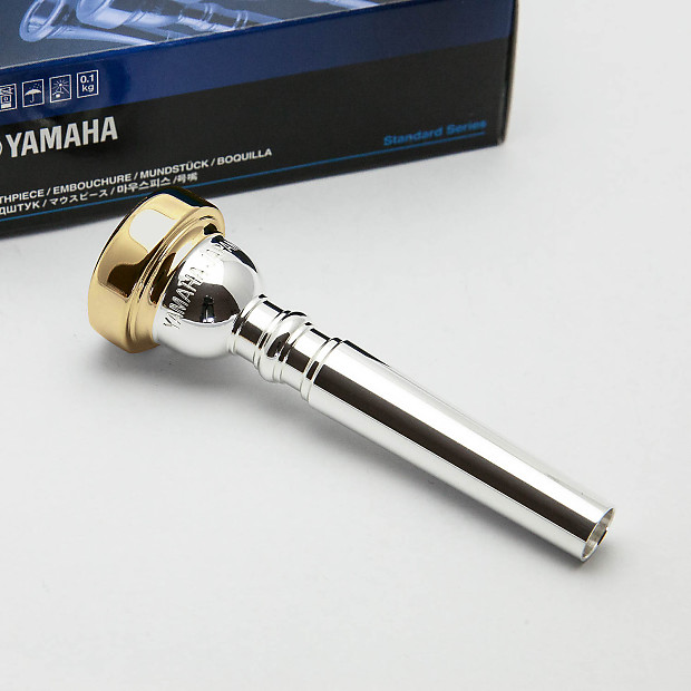 Genuine yamaha standard 14a4a 24k gold rim cup trumpet for Yamaha 14a4a trumpet mouthpiece review