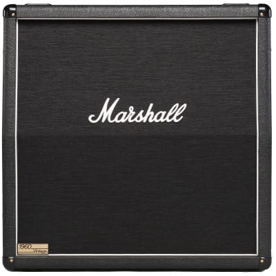 "Marshall 1960AV Angled Guitar Speaker Cabinet (280 Watts, 4x12"")"