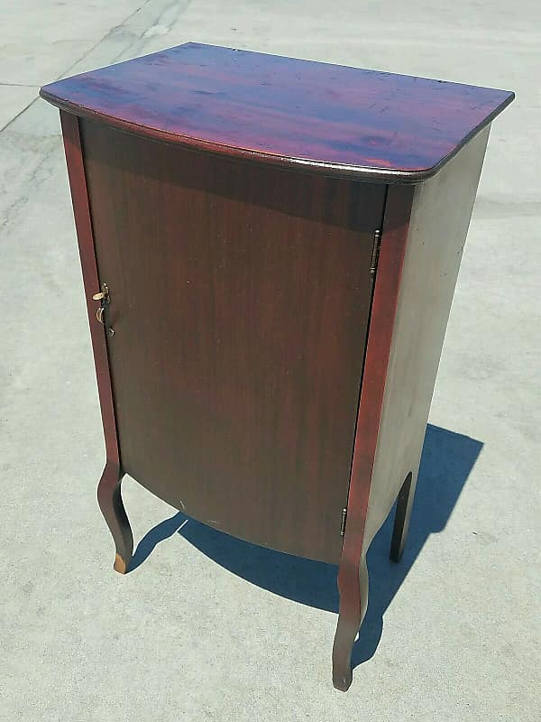 Antique Early 1900's Mahogany Sheet Music Cabinet Made By Larkin Co. - Antique Early 1900's Mahogany Sheet Music Cabinet Made By Reverb