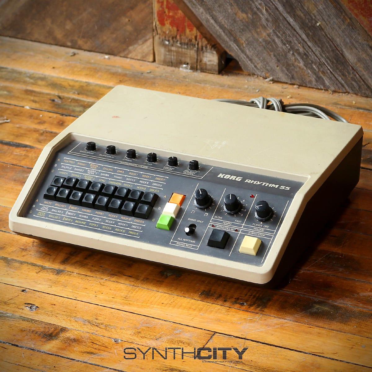 Korg Rhythm 55 Analog Drum Machine