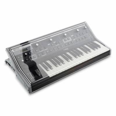 Decksaver Moog Sub 37 & Little Phatty Cover (smoked clear)