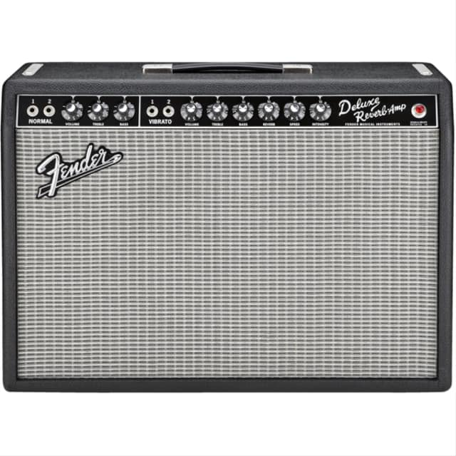 """Fender '65 Deluxe Reverb 22-watt 1x12"""" Tube Combo image"""