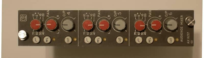CALREC uk 3 channel mic preamp module with Lundahls vintage neve ams  focusrite amek red blue isa