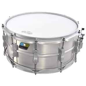"Ludwig LM405LTD Limited Edition Acrolite 6.5x14"" Snare Reissue with Matte Silver Hardware"