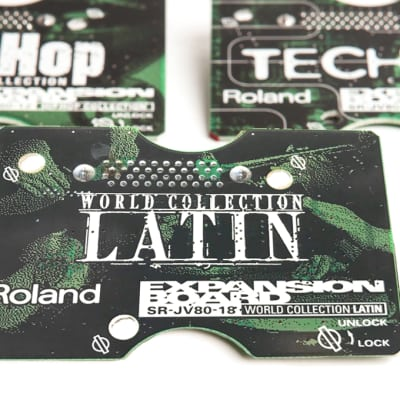 Roland SR-JV80-18 Latin Expansion Board