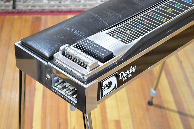 derby steel single neck 10 string pedal steel guitar super reverb. Black Bedroom Furniture Sets. Home Design Ideas