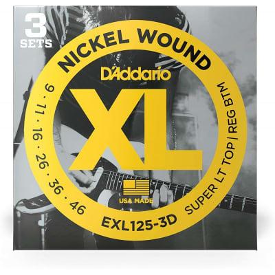 D´Addario EXL125-3D 09-46 Electric 3 Strings Set