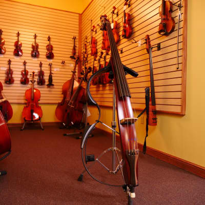 Used Yamaha SLB-100 Silent Electric Upright Double Bass for sale