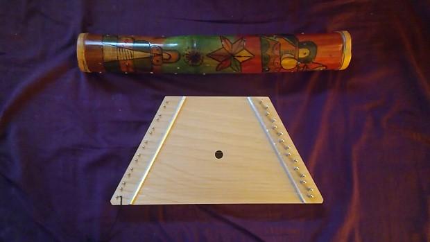 N/A Rain Stick and Mini Harp 2000s Wood | DaRon 's Gear Depot
