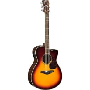 Yamaha FSX830C Acoustic Guitar Brown Sunburst