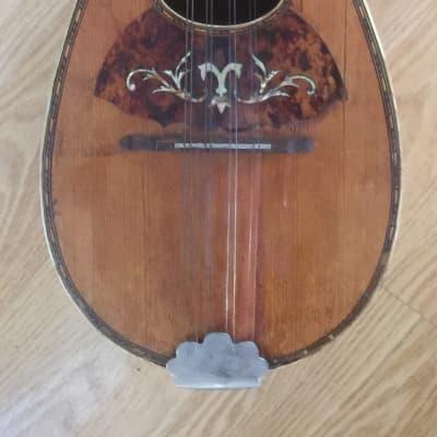 Antique  Old  Regal Mandolin  1900's Brown for sale