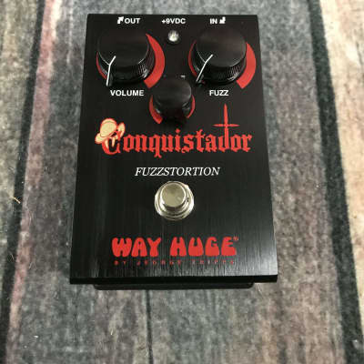 Used Way Huge WHE-406 Conquistador Fuzzstortion Pedal with Box