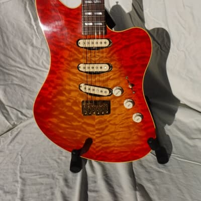 Kendrick Continental 2000 Cherry Sunburst Hand Built Custom for sale