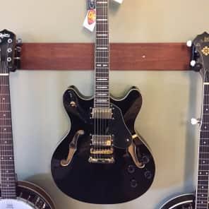 Peavey JF-1 Hollowbody Electric Guitar Black
