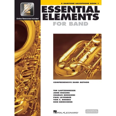 Hal Leonard Essential Elements for Band - Eb Baritone Saxophone Book 1 with EEi