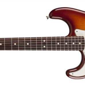 Fender Standard Stratocaster® Plus Top Left-Handed, Rosewood Fingerboard, Toboacco Sunburst 0144621552 for sale