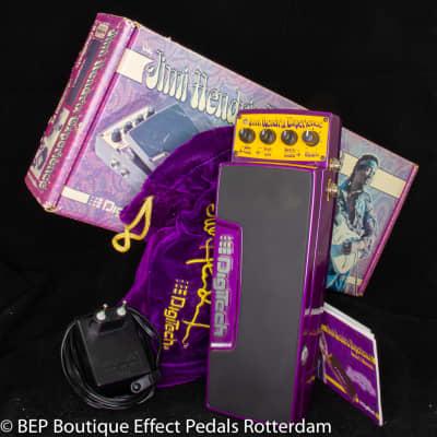 DigiTech Jimi Hendrix Experience Pedal 2005 tribute to the legendary guitar sound of Jimi Hendrix