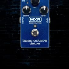 MXR M288 Bass Octave Deluxe Pedal - Free Shipping