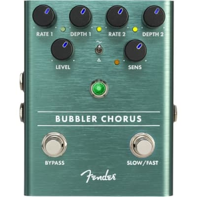 Fender Bubbler Analog Chorus/Vibrato Pedal for sale