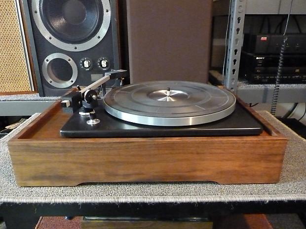 Elac Miracord 750 Restored Vintage Turntable Real Wood