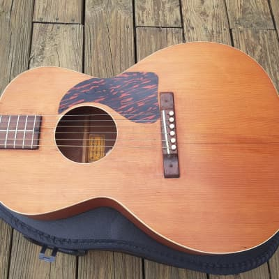 Vintage 1930's Cromwell G2 Flattop Acoustic Guitar w/ Case! Rare Model, Gibson Built! for sale