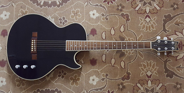 Washburn SBF80 Solid Body Acoustic Electric with Gig Bag and Pro Setup!