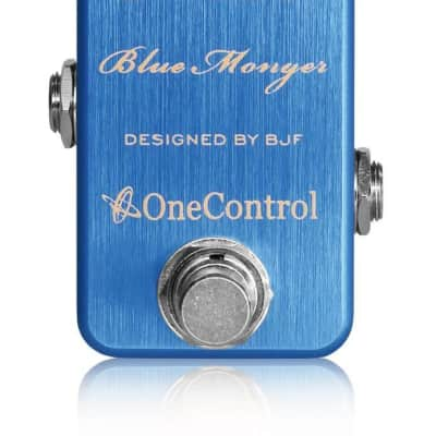 One Control BJF Designed Dimensions Blue Modulation pedal for sale