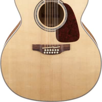 Takamine GJ72CE 12 String Jumbo Cutaway Acoustic Guitar Natural Finish
