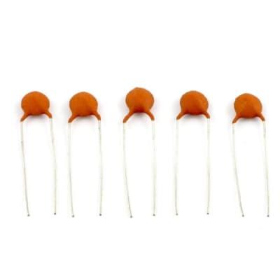 Allparts .033 MFD Ceramic Disc Capacitors pack of 5